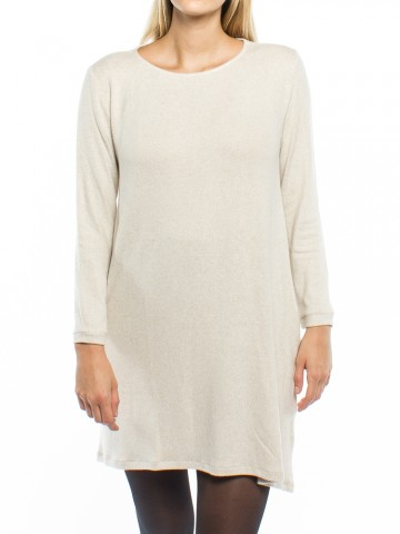 Naime knit dress beige
