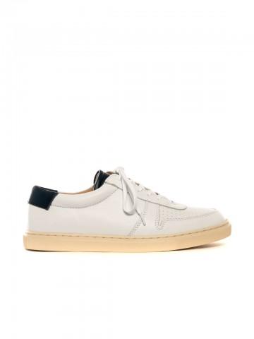 R18 sneaker white navy