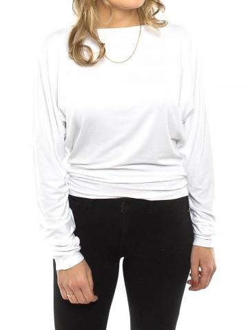 Tama longsleeve white