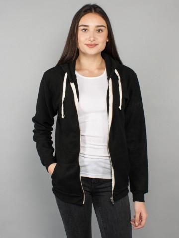 Kima zipper black wm
