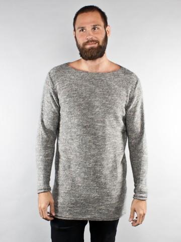 Robert pullover long 005 grey