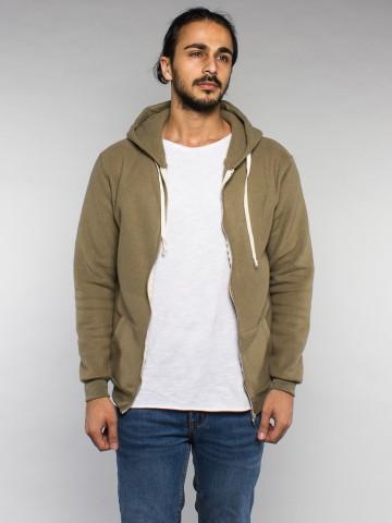 Kima zipper jacket 174 olive