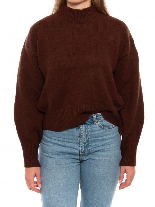 Fayyola pullover dk brown