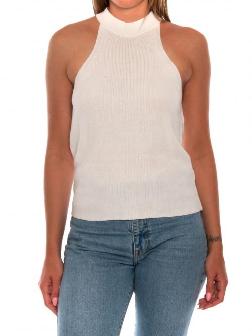 Dina top off white