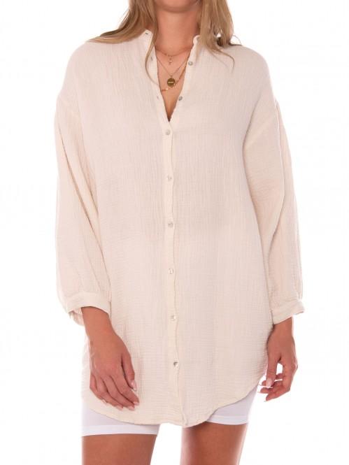 Melisa blouse egret