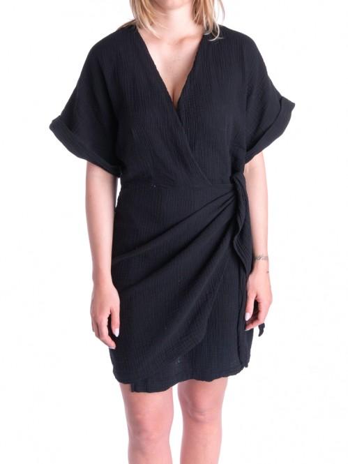 Hajara dress black