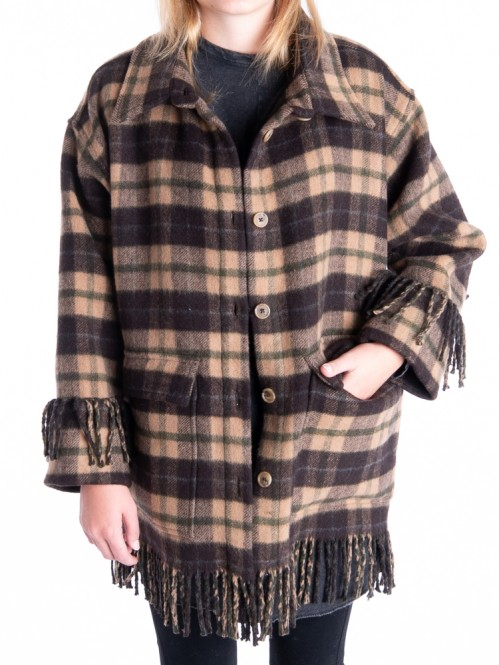 Lettichh jacket dk brown