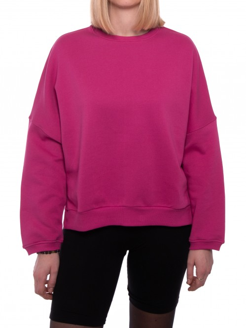 Talibe organic sweater fuchsia