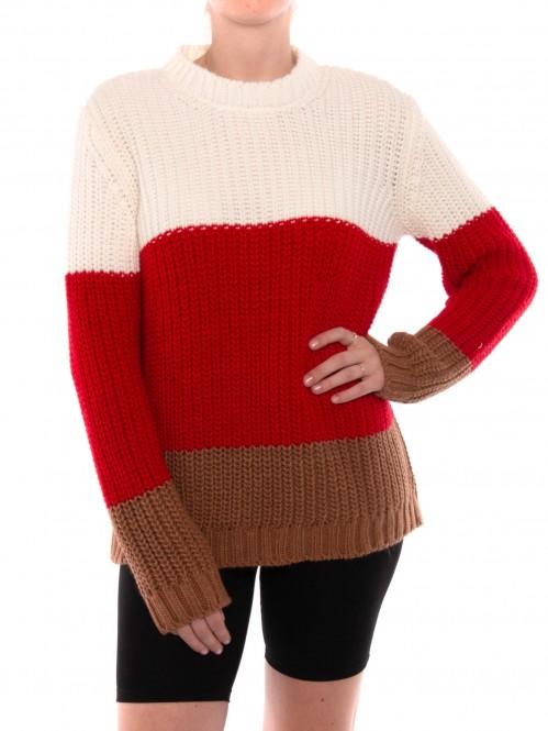 Benvinda pullover multi stripe