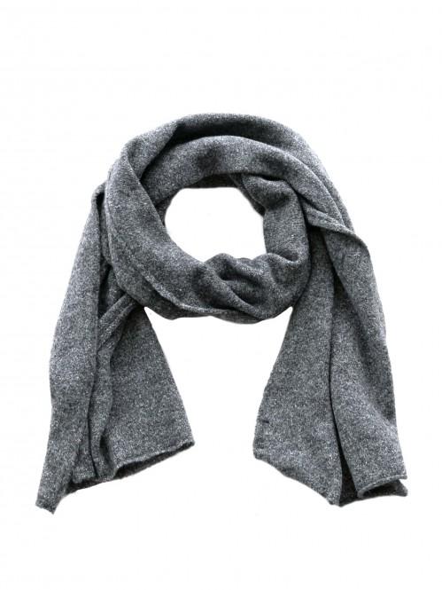 Mille scarf dk grey OS