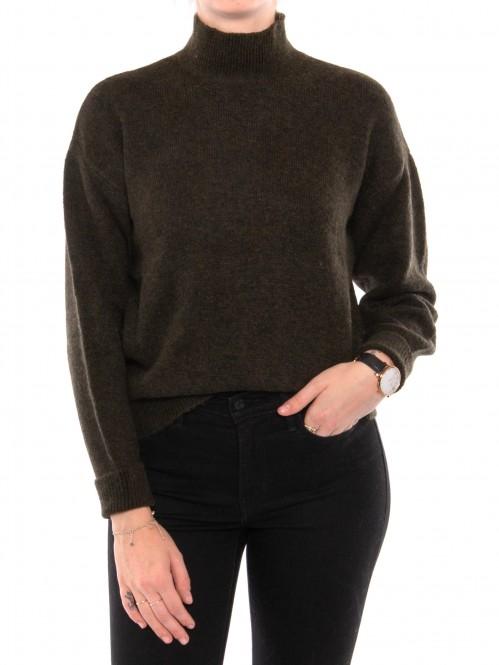 Ayla pullover dark green