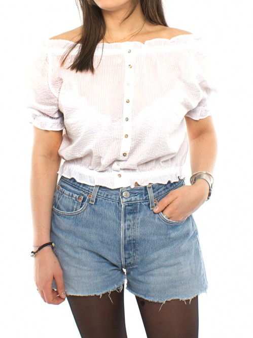 Thea blouse white