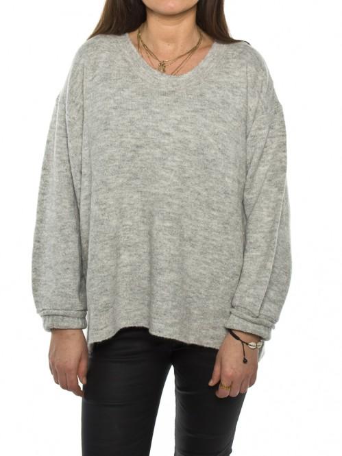 Rulia pullover grey mel