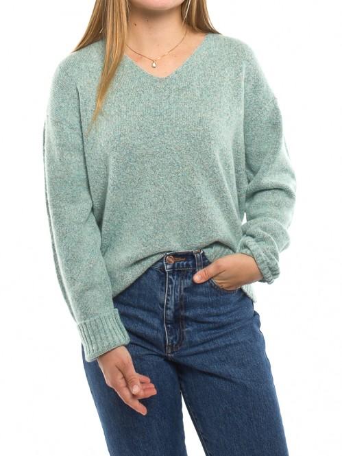Stine pullover aqua grey
