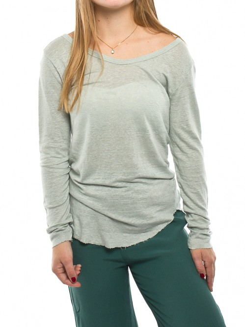 Oliana longsleeve aqua grey