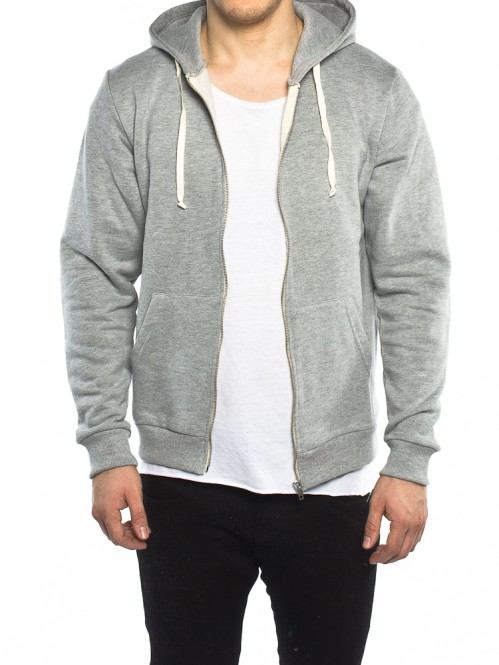 Pavel zipper jacket grey