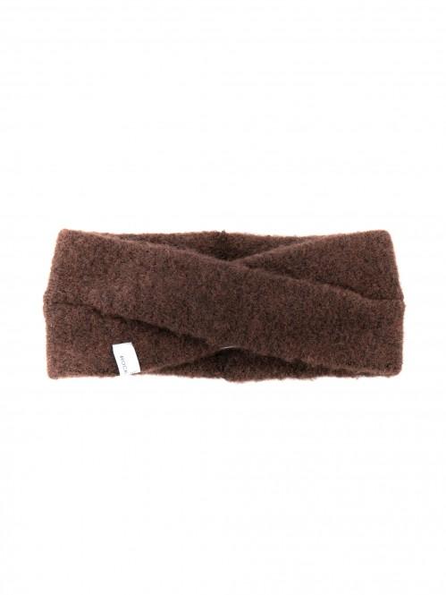 Evi headband dk brown