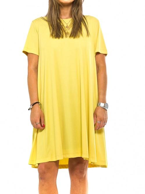 Unna dress yellow