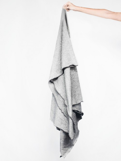 Kibo blanket grey