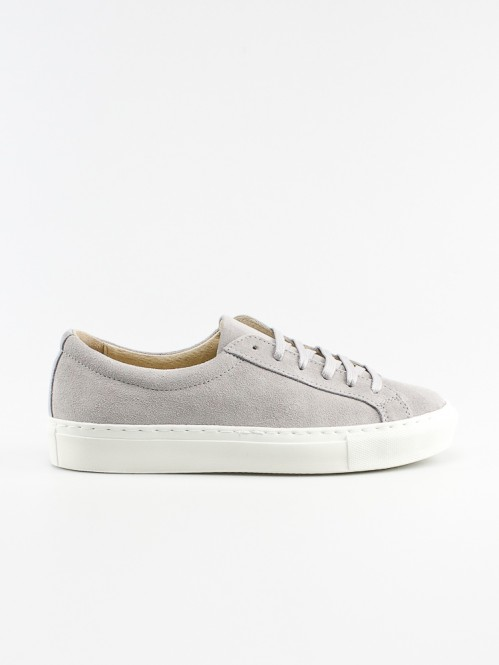 Lia low top sneaker grey suede