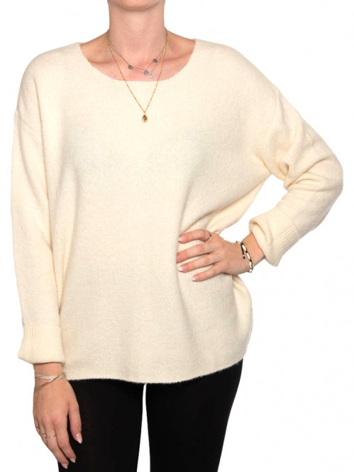 Mille pullover creme