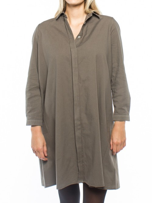 Nagihan dress olive