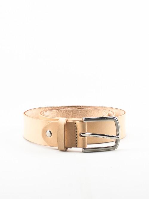 Fara leather belt natur