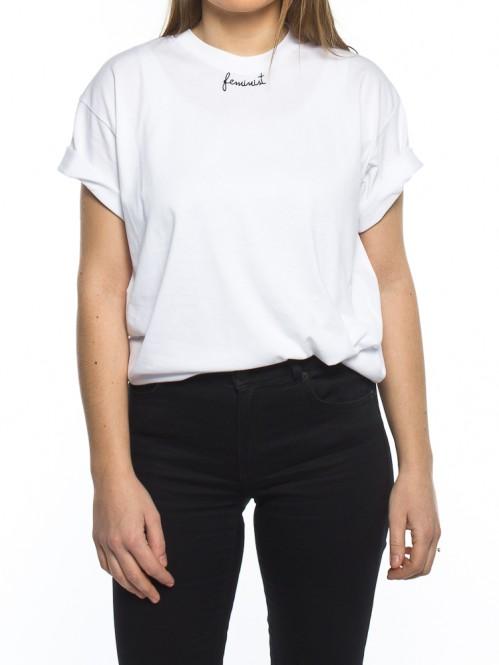 002 Feminist t-shirt white black