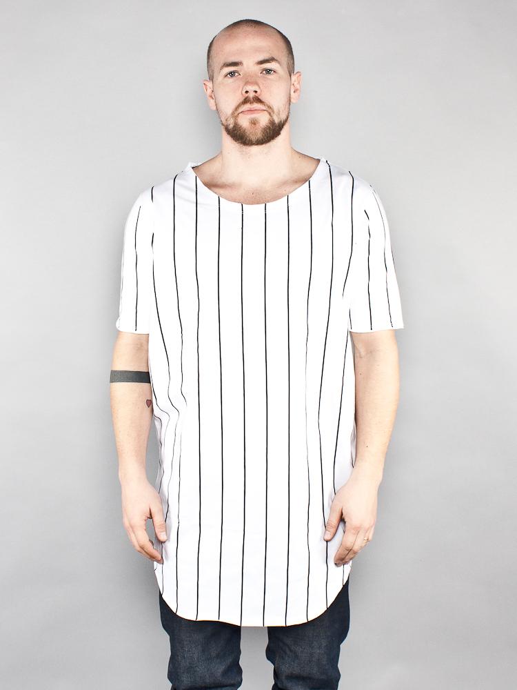 san francisco b74d7 a980a Cahil longshirt men stripes white