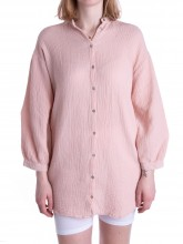 Melisa shirt rose smoke
