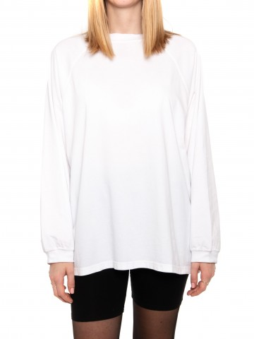 Fasan longsleeve white