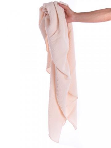 Liinda musselin scarf pastel rose