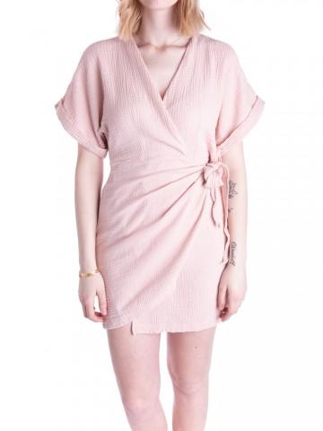 Hajara dress rose smoke