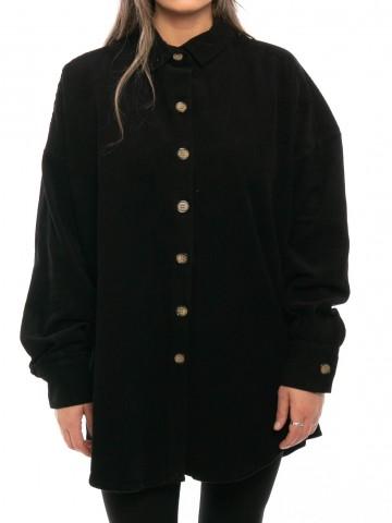 Cord jacket black