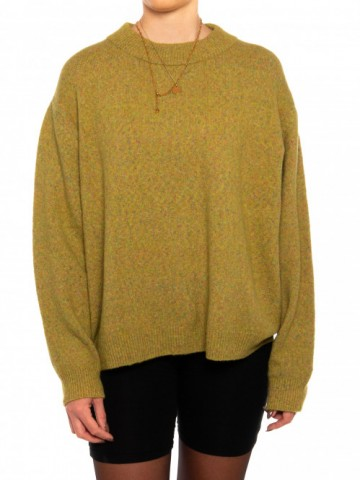 Edera pullover green yellow
