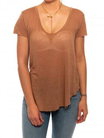 Caroline t-shirt biscuit
