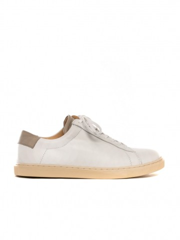 R17 sneaker white taupe