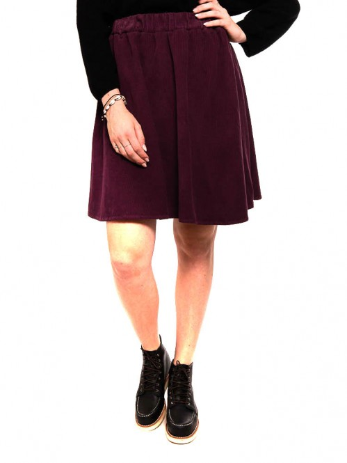 Pepa skirt cord purple
