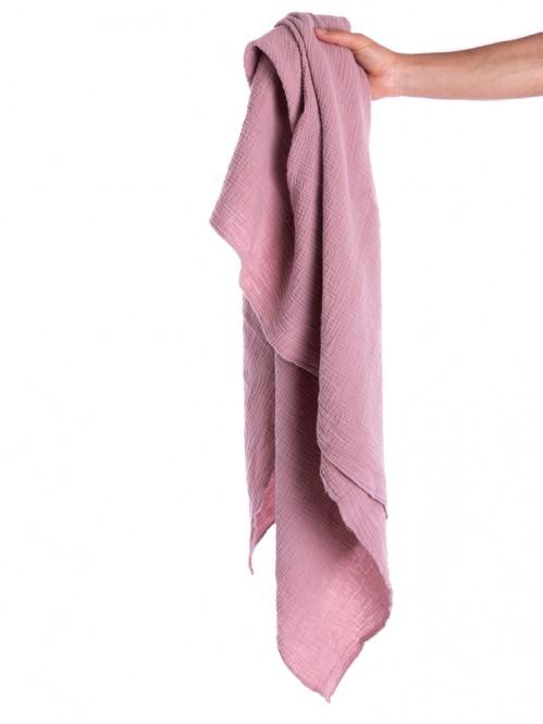 Liinda musselin scarf woodrose