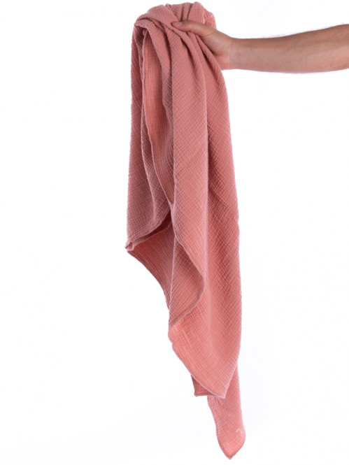 Liinda musselin scarf rose dawn