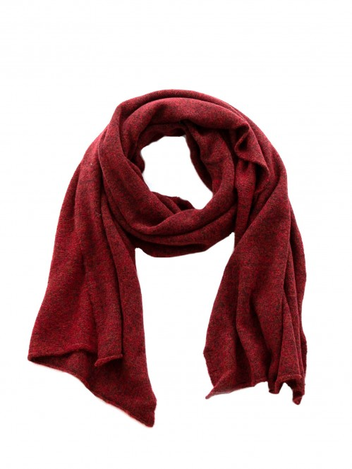 Mille scarf barn red